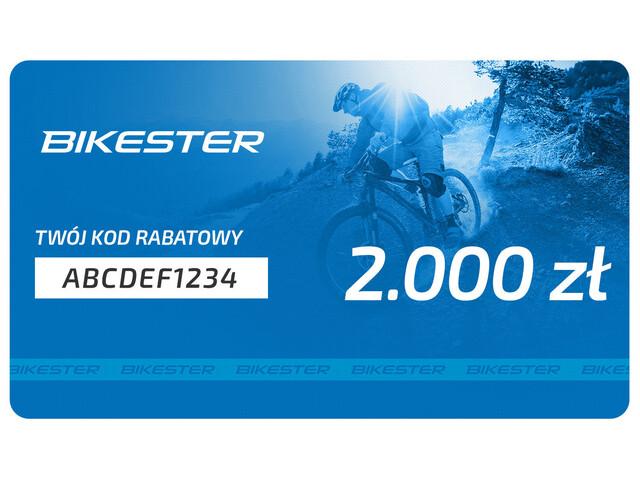 Bikester Karta upominkowa 2000 zł